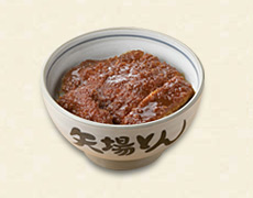 みそかつ丼(みそ汁、漬物付き)