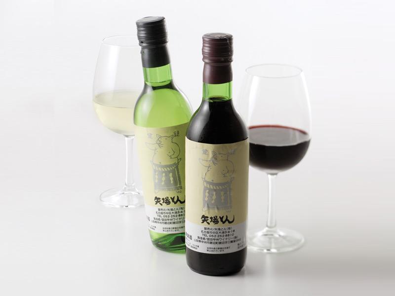 矢場とんオリジナルワイン